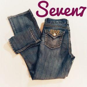 Seven7 Bootcut Jeans Sz 8